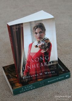 January 2018 release A Song Unheard by Roseanna M. White (book 2 in Shadows Over England)