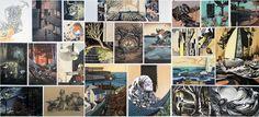 Claire Roderick, Te Puke High School Portfolio Examples, Art Portfolio, Level 3, Theme Ideas, Board Ideas, New Art, Gabriel, Art Boards, Claire