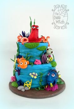 Finding Dory by Nessie - The Cake Witch