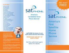 SAT Phone brochure cover