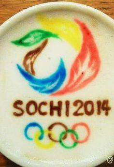 Sochi 2014 Olympic Latte Art twicsy.com