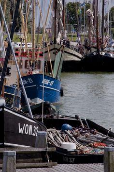 De Haven, Makkum, Friesland.