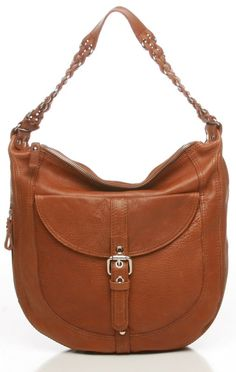 Plain Chain Leather Hobo By Tano $239