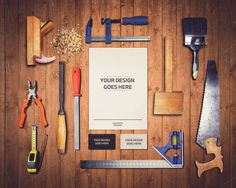 Work Tools Mock-up 1  @creativework247