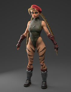 ArtStation - Cammy WIP Clothing, Olivier Couston