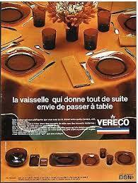 Publicité Vereco 1969 A Table, France, Box Sets, Tableware, French