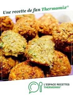 Falafels (meatballs of chickpeas and herbs) Lebanese Recipe - R . Plat Vegan, Recipe R, Falafel Recipe, Falafels, Lebanese Recipes, Food Network Recipes, Food And Drink, Herbs, Cooking