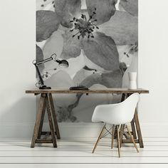 Apple blossom - rebel walls 194e Composition Papier intissé Vendu au Panneau Hauteur 270 cm Largeur 180 cm Poster Xxl, Rebel, Michigan, Composition, Walls, Interiors, Apple, Home Decor, Wallpaper