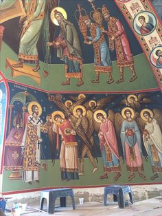 Orthodox Icons, Fresco, 3, Paintings, Fresh, Paint, Painting Art, Painting, Painted Canvas