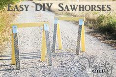 make sawhorses