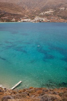 Levrossos Beach in Amorgos