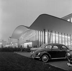Main Station (1954-57) in Bochum, Germany, by Heinz Ruhl