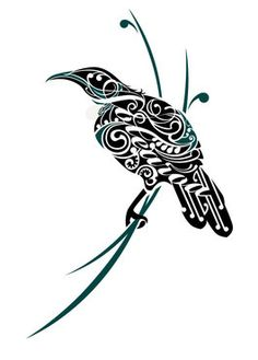 Tui Aotearoa na Shane Hansen. Art Maori, Maori Patterns, Zealand Tattoo, New Zealand Art, Maori Tattoo Designs, Nz Art, Kiwiana, Bird Artwork, Indigenous Art