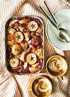 Uunikaurapuuro | Aamiaiset, Vegaaninen | Soppa365 Cook At Home, Zucchini, Vegetables, Cooking, Breakfast, Teet, Food, Kitchen, Morning Coffee