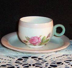 sweet rose demitasse cup...