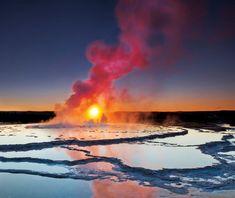 Yellowstone.   U.S.A.