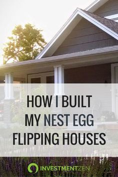 "I love this strategy!! The ""live""-in flip is the easiest way to get started flipping houses. Best part? Live in the home for 2 years & your profits are tax free!"