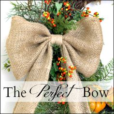 Bittersweet and Burlap Wreath - On Sutton Place