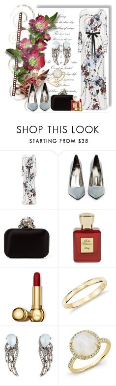 """""""#244"""" by agami87 ❤ liked on Polyvore featuring Erdem, Jeffrey Campbell, Jimmy Choo, Bella Bellissima, Christian Dior, Blue Nile and Chloe + Isabel"""