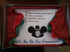 This is sooooo cute. I'm going to do this for both my bridesmaids and his groomsmen.