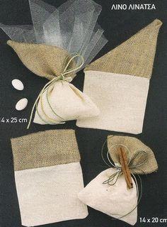 Είδη γάμου - Μπομπονιέρες γάμου - Μπομπονιέρες γάμου-πουγκί - Μπομπονιέρα γάμου πουγκί λινάτσα Lavender Bags, Lavender Sachets, Burlap Crafts, Diy And Crafts, Jute, Diy Wedding, Wedding Gifts, Burlap Bags, Hessian