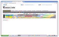 Le site d'information kabyle  « Tamurt.info »  piraté