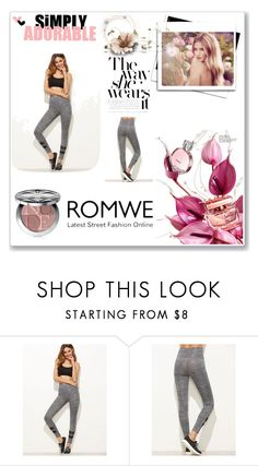 """""""Romwe contest"""" by amirem ❤ liked on Polyvore featuring Whiteley and Christian Dior"""