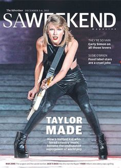 In today's mag: the rise of @taylorswift13 - she's heading for #Adelaide folks