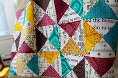 hourglass bag by greenleaf goods, via Flickr