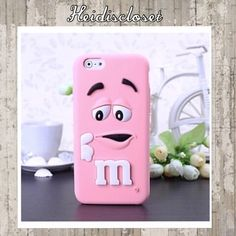 ⭐️M&Ms PINK IPHONE 6 Case⭐️ New cute pink M&Ms iPhone 6 case. New in package. Super cute to put on your phone. Must see in person.  Fast shipping. Bundle more to save. Thank you. IPHONE 6 Accessories Phone Cases