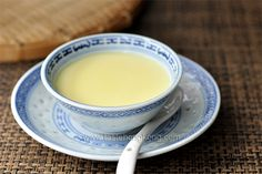 Chinese Sweet Egg Pudding