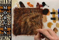 Painting Video Glazing - Wildlife Art Fur Tutorial - Jason Morgan (+play...