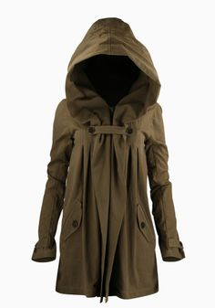 Adorable Anthro hood Jacket winter fashion. . . click on pic to see more