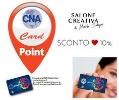 Salone Creativa e' point card CNA