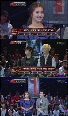 Super Junior's Eunhyuk feels rivalry against actress Choi Song Hyun