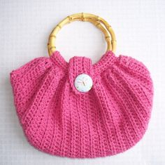 Pink Spring Purse | Kniftyknonsense - Bags & Purses on ArtFire