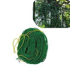 Amgate Nylon Trellis Netting Plant Support for Climbing Plants, Vine and Veggie Trellis Net, 2.95Ft x 5.9Ft