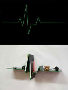 'Pulse bookshelf. Design Mans Salomonson....15 Coolest Bookshelves (bookshelf, modern bookshelves) - ODDEE