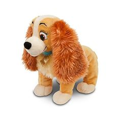 Lady and the Tramp: Lady Plush -- 14'' L | Toys | Disney Store ($20) ❤ liked on Polyvore featuring baby, disney, stuffed animals, toys and lauren