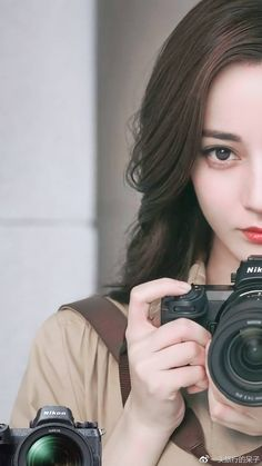 Pin on Ulzzang Girls With Cameras, Le Jolie, Chinese Actress, Jolie Photo, Anime Art Girl, Beautiful Asian Women, Ulzzang Girl, Girl Photography, Girl Photos