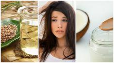 La combinación de ingredientes naturales nos permite preparar algunas recetas para eliminar el molesto frizz de nuestro pelo. ¡Descúbrelas!