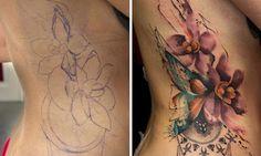 Verrassing tattoo. Zou je het risico?