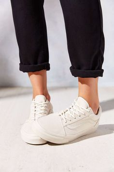Vans | Beige | White | Sneakers | Shoes | More on Fashionchick.nl
