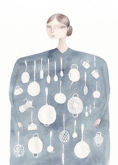 Kitchen Goddess by Julianna Swaney