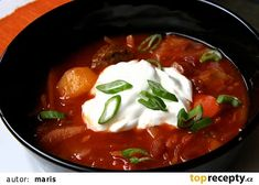 Czech Recipes, Ethnic Recipes, Dairy Free Recipes, Caprese Salad, Free Food, Chili, Curry, Food And Drink, Yummy Food