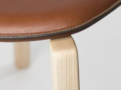 Stitched leather seat cover