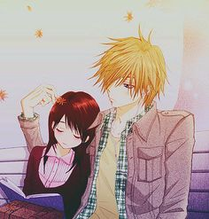 Teru & Tasuku   Dengeki Daisy #illustration #manga
