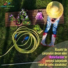 Ataşehir'de çalışmaları devam eden #WaterGarden İstanbul'un yemyeşil bahçesinde rahat bir nefes alacaksınız! #Ataşehir #park #bahçe #eğlence #yeşil #green #nature #doğa #flower #çiçek #garden #gardening #istanbul