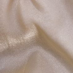 Champagne Crystal Organza Tablecloth Overlays and Chair Sashes  www.KateRyanLinens.com  Wedding & Event Table Linen Rentals