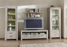 Wohnkombi Serchio - Viel schöner können Möbel gar nicht sein...Natur Pur im Wohnzimmer!